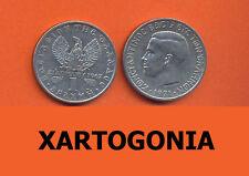 GREECE COINS 1971, 1 DRACHMA, VG-F CROWN HERCULES King KONSTANTINOS II (1 COIN)