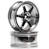 HPI Racing 3837 TE37 Wheel 26mm Chrome 0mm Offset (2) Sprint 2 / E10 Drift