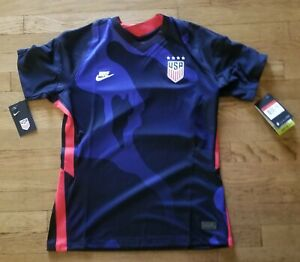 Nike '20-'21 Womens USWNT USA National Soccer Team 4-Star Jersey Size L CD0907