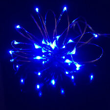 20LED Small Micro LED Fairy Lights Copper Wire Button Battery Wedding Bedroom