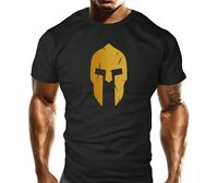 Spartan Gym T Shirt Bodybuilding Muscle Top Fitness Workout T Shirt MMA Fitted