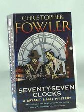 Seventy-seven Clocks,Christopher Fowler- 9780553824674