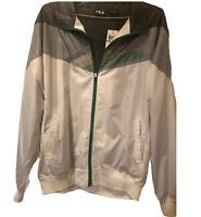 Fila Men's Jacket/Windbreaker Zip Up~New W/Tags!! Perfect For Golfing!! Size XL