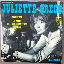 JULIETTE GRECO Belphegor EP