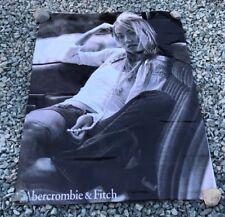 Abercrombie Olivia Wilde canvas vinyl banner store sign model jeans poster