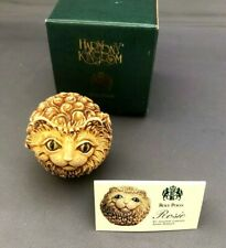 Harmony Kingdom Roly Poly Cat figurine Rosie trinket box Tjrpca New in box