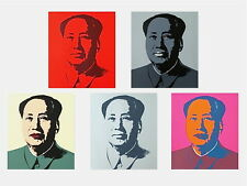 Mao Suite (Sunday B. Morning), Silkscreen, Andy Warhol