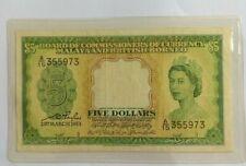 Malaya & British Borneo 5 Dollars
