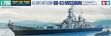 Tamiya 1:700 BB-63 Missouri Battleship Plastic Model Kit 31613