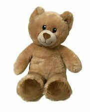 BUILD A BEAR WORKSHOP BAB Light Brown Bear Sewn Eyes Nose Soft Plush Toy 40cm
