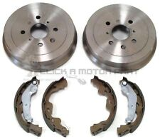REAR 2 BRAKE DRUMS AND SHOES SET FOR TOYOTA AYGO 1.0 1.4 HDi 2005-2017