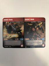 Dinobot Snarl Spiked Battler Transformers TCG Wave 2 Mint