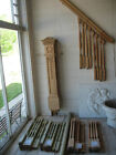 Victorian Oak Staircase Balusters Newel Post Railing with 4 styles of spindles