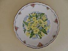 "Royal Albert Bone China Plate Queen Mothers Favourite Flowers Series ""Primroses"""