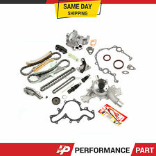 Timing Chain Kit w/o Gears Cover Gaskets Oil Water Pump for 97-11 Ford 4.0L SOHC