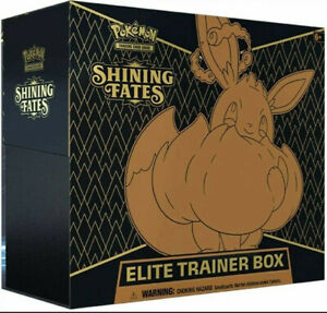 Pokemon TCG: Shining Fates Elite Trainer Box Factory Sealed in Stock