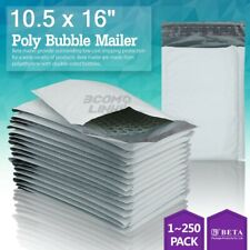 5 105x16 105x15 Poly Bubble Mailer Padded Envelope Shipping Bag 2550100