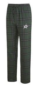 "Dallas Stars NHL ""Homestretch"" Men's Flannel Pajama Sleep Pants"