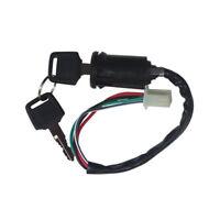 1* Universal Motorcycle Ignition Switch Key For Honda KTM Yamaha Kawasaki Suzuki