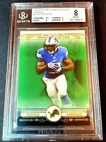 BGS 8 2014 Topps Museum Collection EMERALD 1/1 Reggie Bush #87