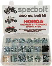 250 piece Bolt Kit Honda TRX450 R 700XX ATVs frame body plastic fenders Specbolt