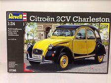+++ Revell Citroen 2CV CHARLESTON 1:24 07095