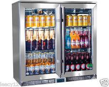 RHINO BRAND NEW BAR FRIDGE ALFRESCO, OUTDOOR, GLASS, IP RATING, ENERGY EFFICIENT
