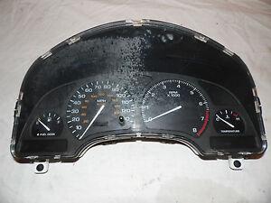 OEM 2001 SATURN SC 2 Instrument Cluster MIlage approx:140000 gauge's Speedometer