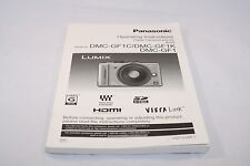 Panasonic Digital Camera DMC-GF1C/GF1K/GF1 Operating Instructions (EN) 7116008
