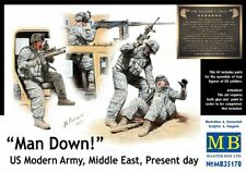 Master Box 1/35 on down! US Modern Army, Middle East, Present Day # 35170