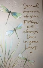 Loss of FATHER SYMPATHY CARD by American Greetings