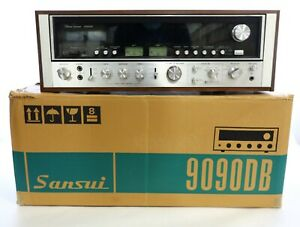 Vintage Sansui 9090DB AM/FM Stereo Receiver Amplifier w/ Original Box & Manuals