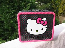 Hello Kitty by Sanrio Tin  Lunch Box  Licensed 2011