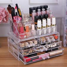 Kosmetik Organizer Make-up Acryl Aufbewahrung Beauty Kosmetikbox Schubladen Box