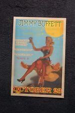 Jimmy Buffett Tour Poster 1976 Washington Lisner Auditorium