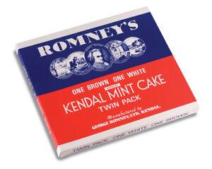 Kendal Mint Cake Romney's Kendal Mintcake Twin Selection Box  340g