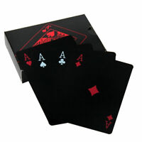 54 Playing Cards PVC Poker Waterproof Table Game Magic Trick Party Favor Cool