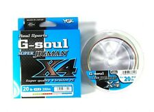 YGK E.F. línea G Soul Super jigman X4 200m E.F. 1.2, 20lb (6453)