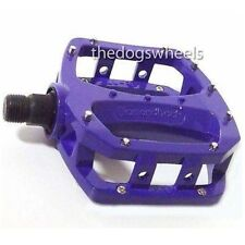 "Diamondback Bigfoot 2 BMX / MTB Bicycle Bike Pedals Flat Platform 9/16"" Purple"