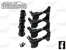 Wilkinson ® WJB650 Bass guitar machine heads Ibanez ® style, Black finish