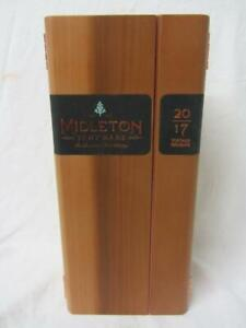 Midleton Very Rare 2017 Whiskey Vintage Release Box Certificate Of Authenticity