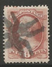 STAMPS-UNITED STATES. 1870. 6c Dull Carmine. SG: 150a/Scott 148. Fine Used.