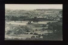 Gloucester Glos BIRDLIP and reservoirs from Coopers Hill c1920/30s? RP PPC