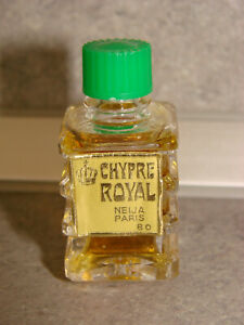 Antique Miniature Of Perfume Cyprus Royal Neija Paris ( N° 5