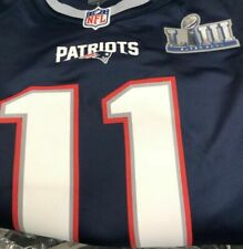 Julian Edelman New England Patriots Super Bowl LIII 53 Nike Jersey Medium c4d99c10e