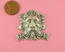 VINT DESIGN ANT SILVER PLATED BRASS LARGE GREENMAN - 1 PC(s)