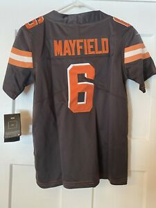 Kids/Youth Cleveland Browns #6 Jersey Size M