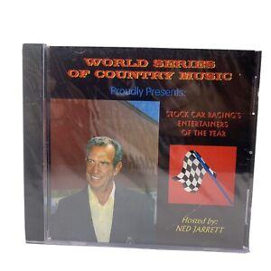 World Series Of Country Music Ned  Stock Car Jarrett Entertainer Of Year CD