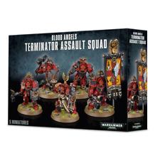 Blood Angels Terminator Assault Squad Space Marines Warhammer 40K Nib