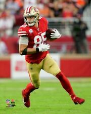 GEORGE KITTLE 2019 SAN FRANCISCO 49ERS 8X10 ACTION PHOTO
